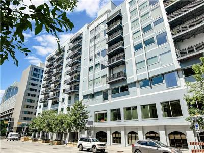 Condo/Townhouse For Sale: 800 Brazos St #1208