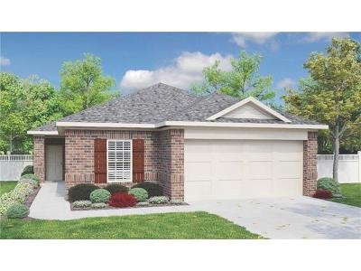 Round Rock Single Family Home For Sale: 2005 Birkby Ct