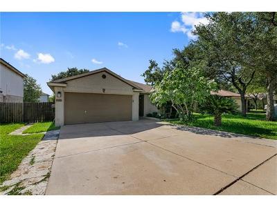 Cedar Park Single Family Home Pending - Taking Backups: 1202 Brashear Ln