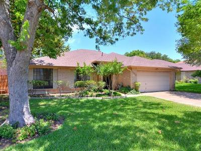 Austin Single Family Home Pending - Taking Backups: 7913 Cahill Dr