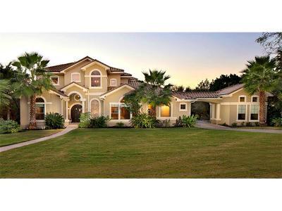 Lakeway Single Family Home For Sale: 701 Hurst Creek Rd