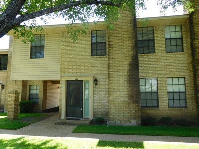 Austin Condo/Townhouse For Sale: 8400 Jamestown Dr #522