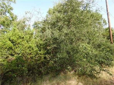 Liberty Hill Residential Lots & Land For Sale: TBD Lot 32B Oak Bend Dr