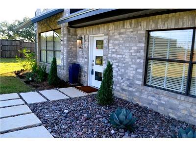 Spicewood Single Family Home For Sale: 5007 Evidence Cv