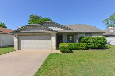 Cedar Park Single Family Home For Sale: 620 Brookside Pass W