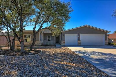 Lago Vista Single Family Home For Sale: 20005 Lincoln Cv