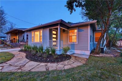 Travis County Single Family Home Pending - Taking Backups: 7209 Grover Ave