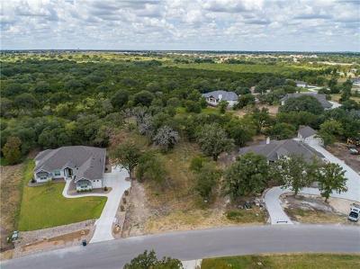 Georgetown Residential Lots & Land For Sale: 325 Creek Crossing Dr
