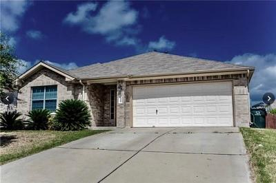 Kyle Single Family Home For Sale: 1360 Cherrywood