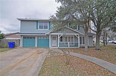 Cedar Park Single Family Home For Sale: 311 Oakridge Pass