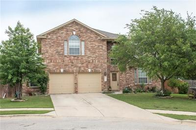 Pflugerville Single Family Home For Sale: 1604 Purple Iris Cv
