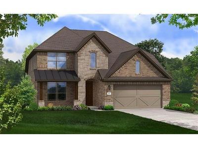 Round Rock Single Family Home For Sale: 6824 Leonardo Dr