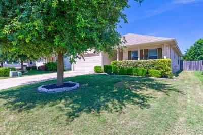 Hutto TX Single Family Home For Sale: $224,500
