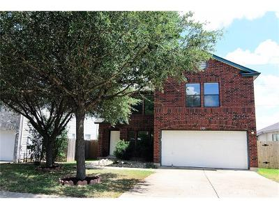 Round Rock Single Family Home For Sale: 1305 Sheltie Ln