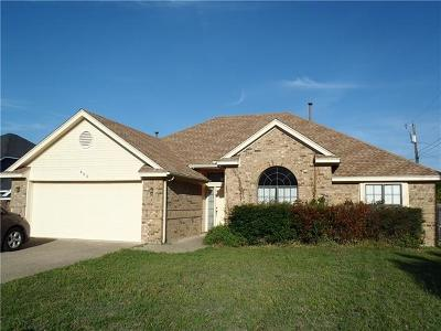 Harker Heights Single Family Home Pending - Taking Backups: 403 Duece Ct