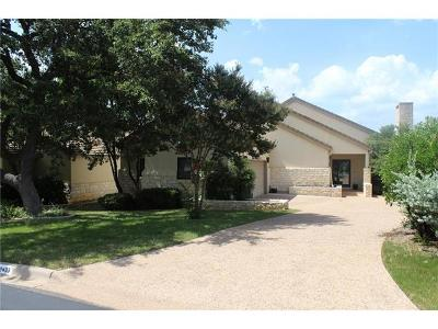 Burnet County Single Family Home Pending - Taking Backups: 2433 Founders Cir