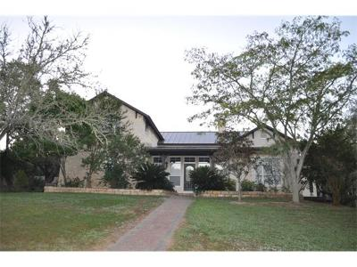 Wimberley Single Family Home For Sale: 200 Brunson Ln