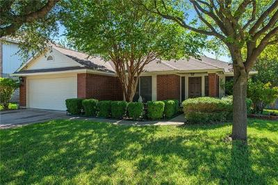 Pflugerville Single Family Home For Sale: 17201 Sandwick Dr