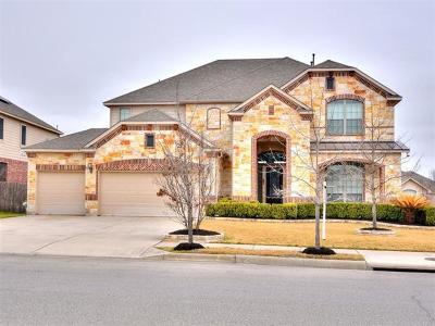 Pflugerville Single Family Home For Sale: 2504 Speidel Dr