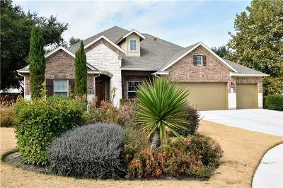 Cedar Park Single Family Home For Sale: 405 Parkwest Cv