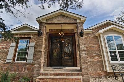 Manor Single Family Home For Sale: 20808 Liveoak Ln