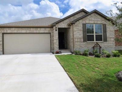 Round Rock Single Family Home For Sale: 7909 Massa Dr