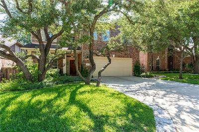 Steiner Ranch Single Family Home Active Contingent: 2823 Lantana Ridge Dr