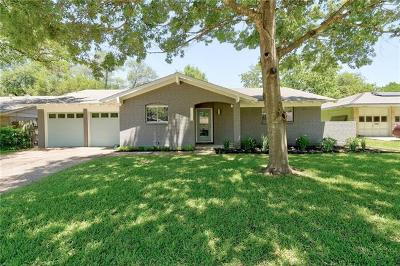 Single Family Home For Sale: 3204 Benbrook Dr