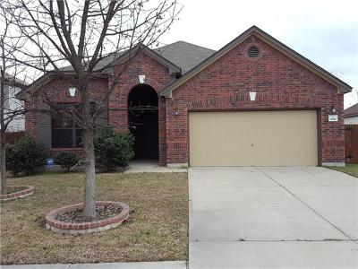 Leander Single Family Home For Sale: 1610 Candlelight Dr