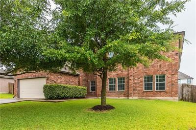 Round Rock Single Family Home For Sale: 19628 San Chisolm Dr