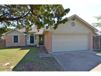 Leander Single Family Home Pending - Taking Backups: 608 Sunny Brook Dr