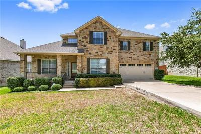 Cedar Park Single Family Home For Sale: 1809 Liberty Oaks Blvd