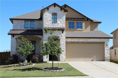 Leander Single Family Home For Sale: 2340 Lyla Ln