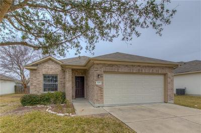 Hutto Single Family Home For Sale: 208 Brown St