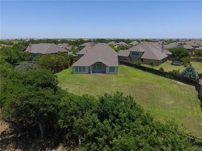 Round Rock Single Family Home For Sale: 1585 Courmayeur Ct