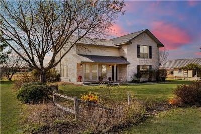 Martindale Single Family Home For Sale: 1100 Martindale Falls Rd