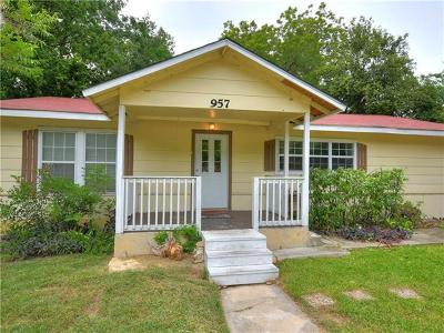 San Marcos Single Family Home For Sale: 957 Sycamore St