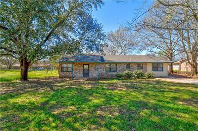 Marble Falls Single Family Home For Sale: 1114 Ash Dr