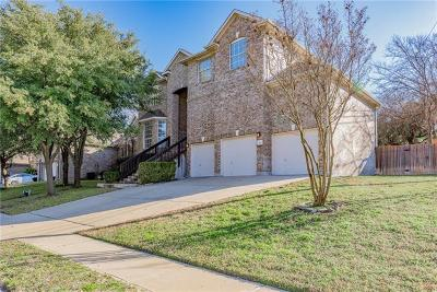 Round Rock Single Family Home For Sale: 3731 Harvey Penick Dr