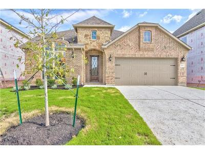 Leander Single Family Home For Sale: 509 Mistflower Springs