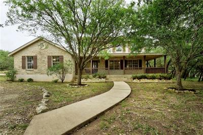 Dripping Springs Single Family Home For Sale: 805 Oakwood Ln
