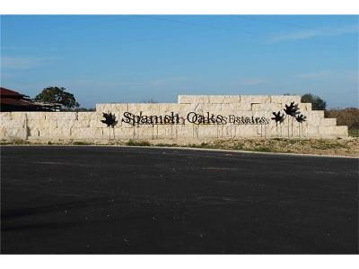Lockhart Residential Lots & Land For Sale: 3 Spanish Oaks Blvd