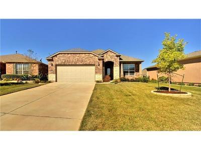 Sun City Single Family Home Pending - Taking Backups: 106 Copperas Creek Cv