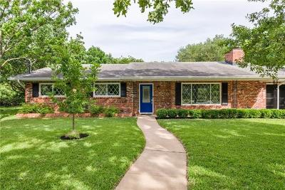 Austin Single Family Home Active Contingent: 5709 Parkwood Dr