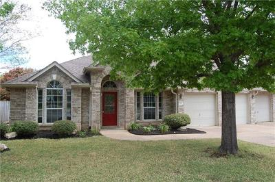 Round Rock Single Family Home For Sale: 4001 Sendero Springs Dr