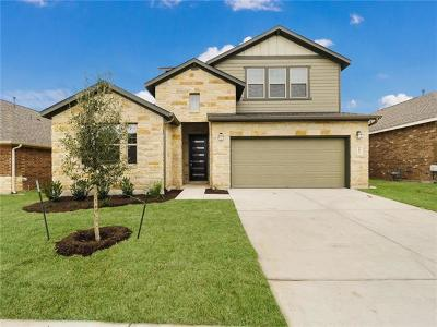 Hutto Single Family Home For Sale: 1005 Guernsey Cv