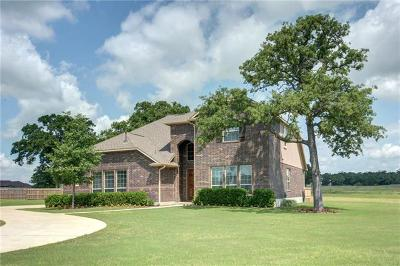 Bastrop Single Family Home Active Contingent: 114 McCoy Cir