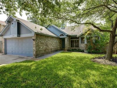 Round Rock Single Family Home Pending - Taking Backups: 2207 Raintree Path