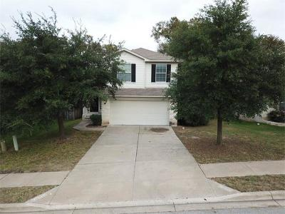 Round Rock Single Family Home For Sale: 617 Fort Thomas Pl