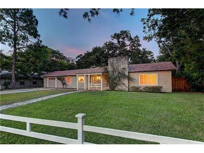 Austin Single Family Home For Sale: 2411 Vista Ln